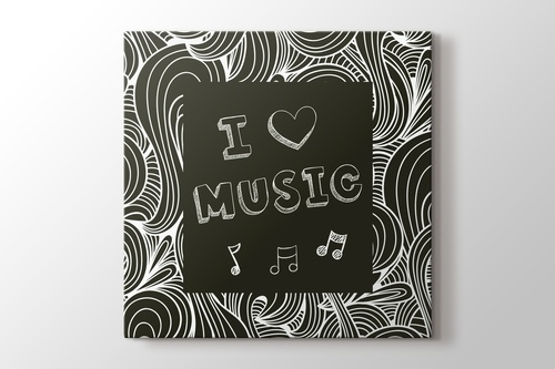 I Love Music görseli.