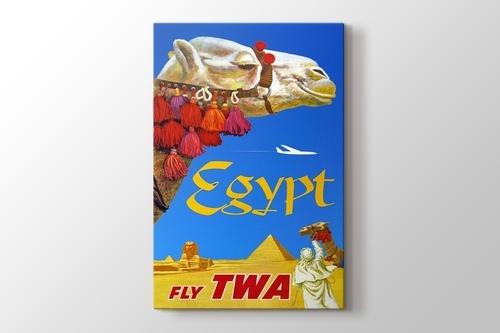 Mısır Vintage Posteri görseli.