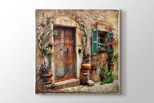 Eski Akdeniz Kasabası görseli.