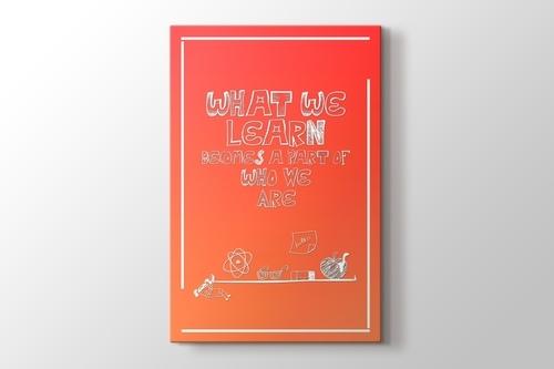 What We Learn görseli.