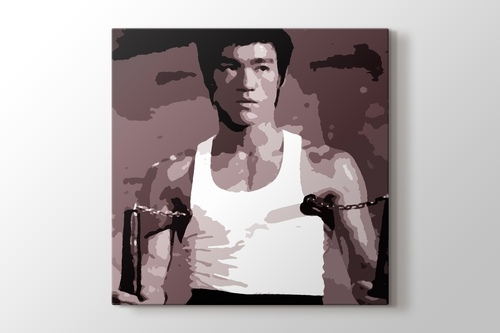 Bruce Lee - Nunchaku görseli.
