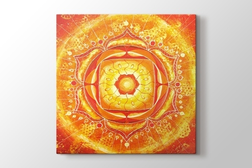 Turuncu Mandala görseli.