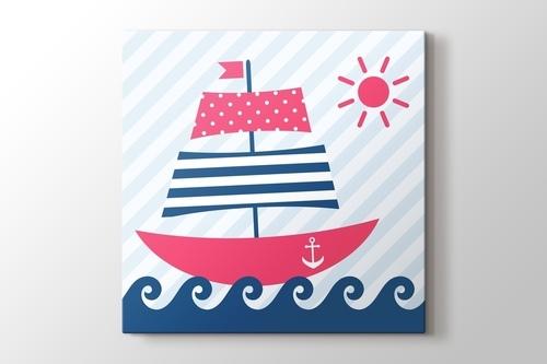 Yelkenli Gemi görseli.