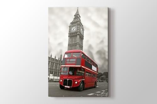 Red Bus and Big Ben görseli.