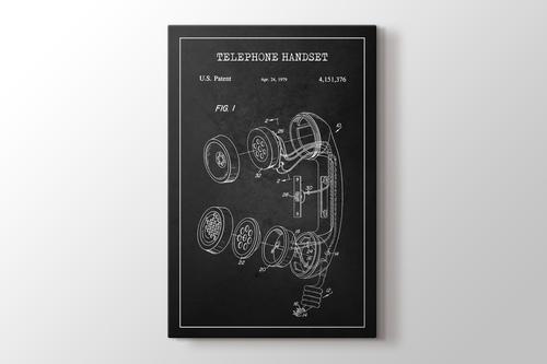Telephone Handset Patent görseli.