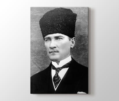 Mustafa Kemal Ataturk Kanvas Tablo Burada Pluscanvas