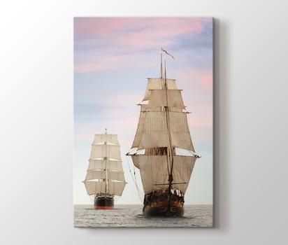 Yelkenli Gemiler Kanvas Tablo Burada Pluscanvas