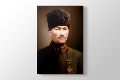 Atatürk Yağlıboya görseli.
