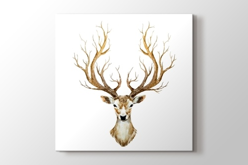Hand Drawn Deer görseli.