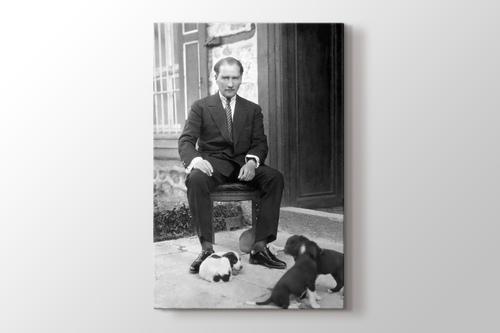 Atatürk ve Hayvan Sevgisi görseli.