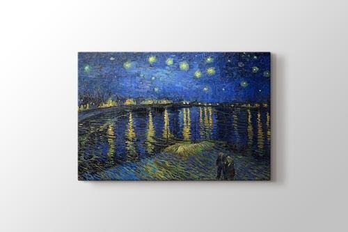 Rhone Üzerinde Yıldızlı Gece görseli.