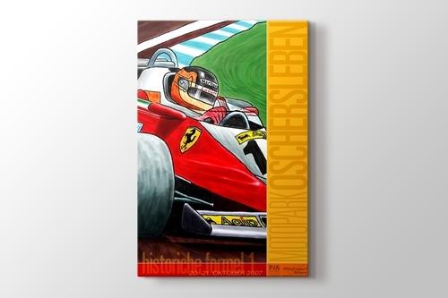 2007 Almanya Formula 1 Posteri görseli.