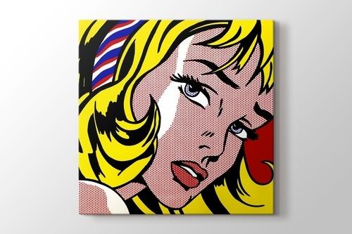 Girl with Hair Ribbon görseli.