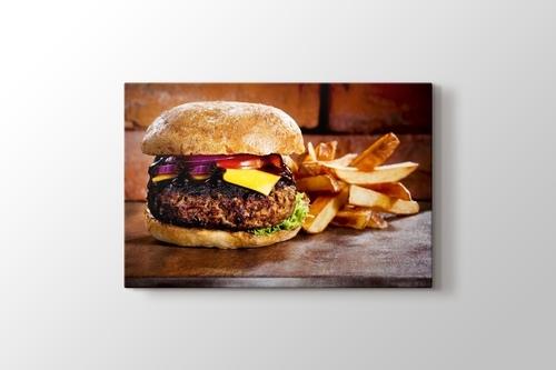 Hamburger görseli.
