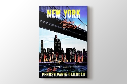 New York by Pennsylvania Railroad görseli.