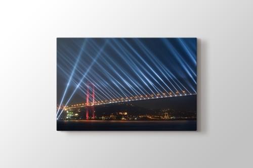 İstanbul - Boğaziçi Köprüsü Cumhuriyet Bayramı Kutlamaları görseli.