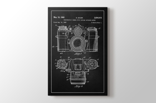 Photographic Camera With Coupled Exposure Meter Patent görseli.