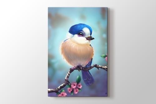 Mavi Başlı Kuş görseli.