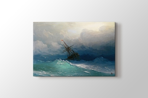 Ship on Stormy Seas görseli.