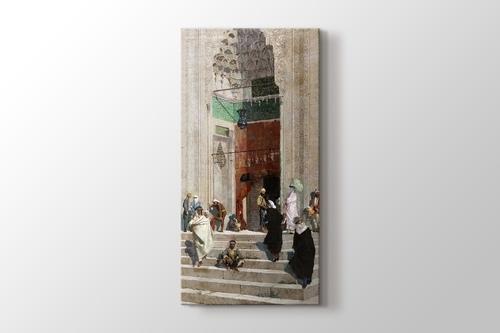 Yeşil Cami Önü görseli.