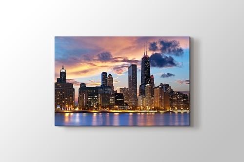 Chicago Skyline görseli.