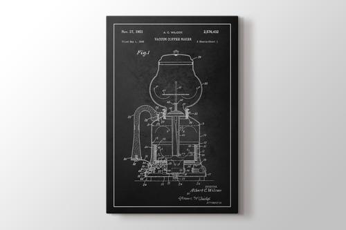 Vacuum Coffee Maker Patent görseli.