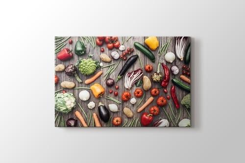 Vegetables - Sebzeler görseli.
