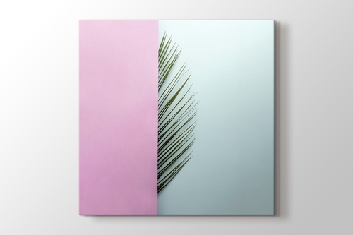Palm Leaf Half Pink görseli.