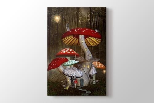Mushroom Town görseli.