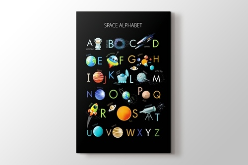 Space Alphabet görseli.