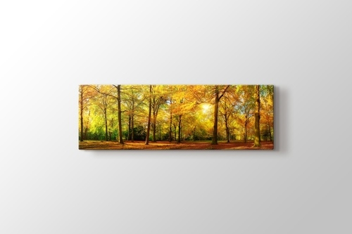 Gün Doğumu ve Orman görseli.