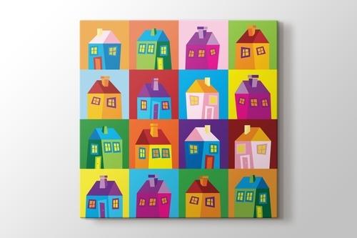 Colored Houses görseli.