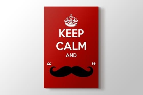 Keep Calm and Mustage görseli.