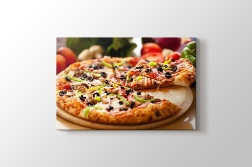 Karışık Pizza görseli.