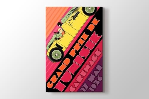 1936 Tunus Formula 1 Posteri görseli.