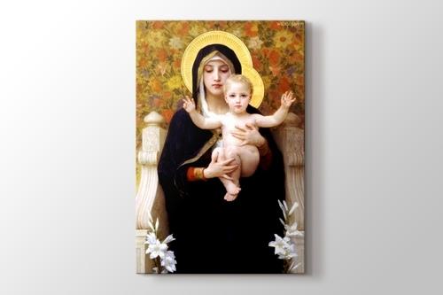 La Vierge au lys görseli.