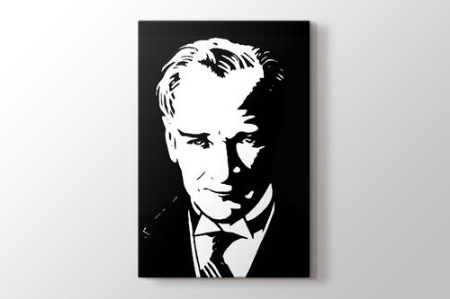 Atatürk silüeti görseli.