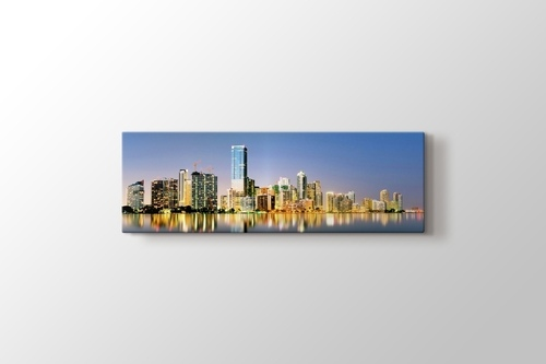 Panoramik Miami Florida görseli.