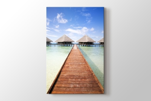 Maldives - Tropical Beach görseli.
