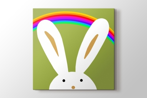 Bunny and the Rainbow görseli.