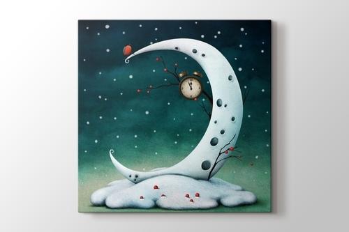 Beyaz Ay görseli.