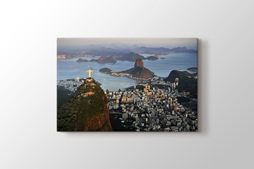 Rio Cityscape at Dawn görseli.