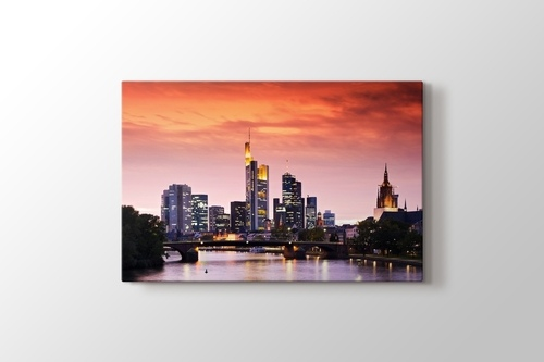 Frankfurt Skyline görseli.