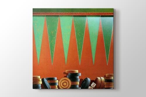 Backgammon görseli.