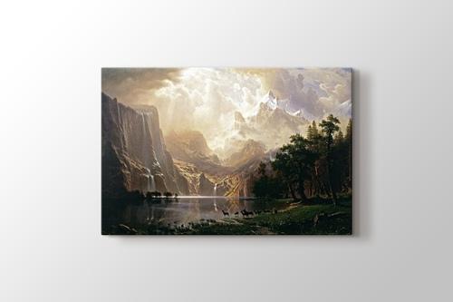 Among the Sierra Nevada Mountains - California görseli.
