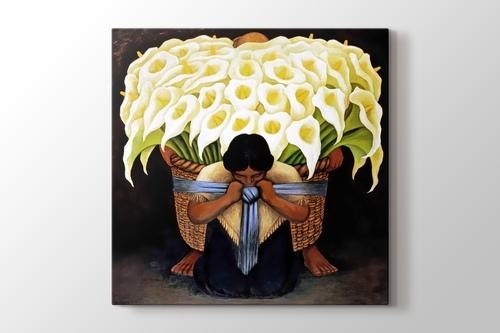 Vendedora de Flores görseli.