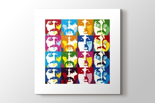 The Beatles PopArt görseli.