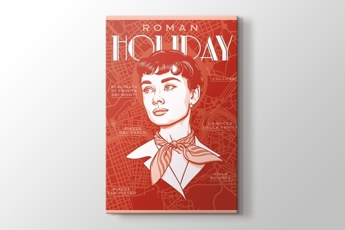 Roman Holiday - Audrey görseli.