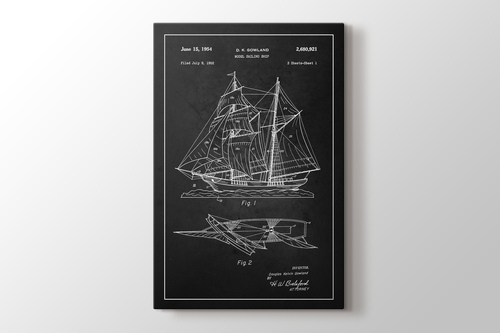Sailing Ship Patent görseli.