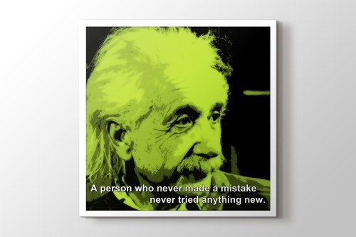 Albert Einstein - Mistake görseli.
